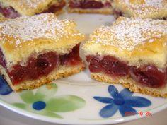 Betti gluténmentes konyhája: Meggyes pite