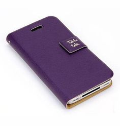 Leather Flip Pouch Case for #iPhone 4/4S - http://getth.at/emluj