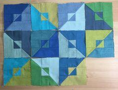 Zen Chic, modern quilts by Brigitte Heitland hat diesen Pin entdeckt. Entdecke…