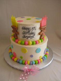 Cute Troll cake
