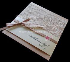 Nude lace wedding invite. Elegant wedding invitations  $11.65    SERVICING WORLDWIDE