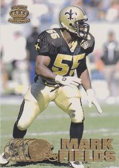 Mark Anthony Fields (born November 9, 1972) is a former linebacker for the New Orleans Saints. He played for the Saints from 1995-2000.