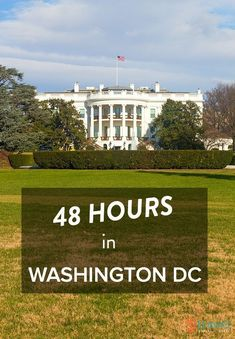 48 Hours in Washington DC - travel tips to make the most of your short stay! From @ytravelblog. #TravelDestinationsUsaWashington