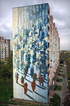 STREET ART UTOPIA » We declare the world as our canvas » By Proembrion, Tone, Sepe, Chazme, Cekas – at GALERIA URBAN FORMS in Lodz, Poland 16