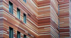 NBK Terracotta Façade by Hunter Douglas Contract