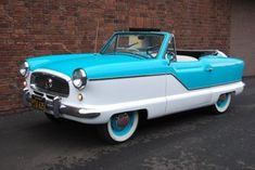 1960 Nash Metropolitan -- I will own you one day!