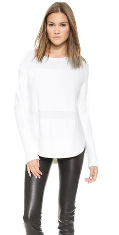 Helmut Lang Textured Pullover   SHOPBOP