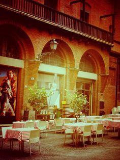 Restaurante en Bolonia