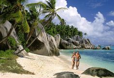 The Seychelles (east of Africa, Indian Ocean)