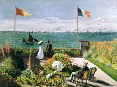 Claude Monet - Terras bij Saint Adresse
