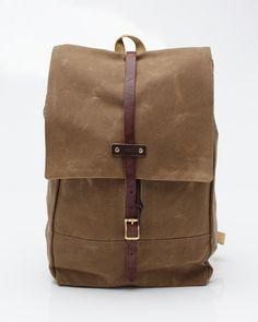 Archival Clothing - Rucksack In Tan - $260