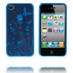 Bali (Blå) iPhone 4S Deksel