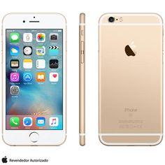 [fast] iphone 6s gold 128gb r$2.991,12 avista / r$3.399,00 11x