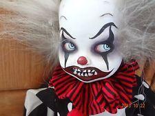 OOAK Halloween Creepy Clown Clown