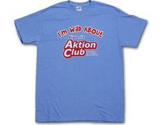 """I'm Wild About Kiwanis Aktion Club Service in Action"" Unisex Short Sleeve Printed T-Shirt Custom Clothes, Unisex, Club, T Shirt, Printed, Sleeve, Action, Manga, Tee"