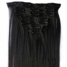 Image of Clip-In Hair Extensions-12pcs