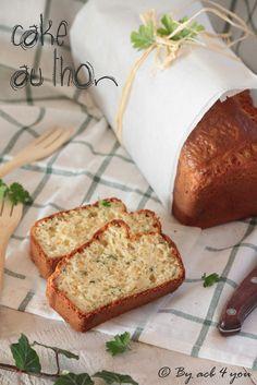 Cake au thon persillé
