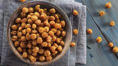 Pois chiches croquants aux épices. #IGA #recette #vege