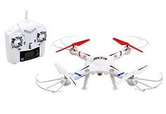 Drone Quadcopter Video/Picture Camera Ufo Gyro Rc Remote Control White Flight  #EiHi