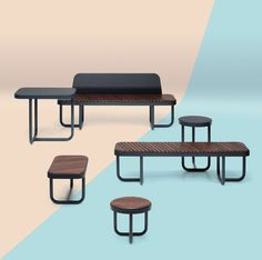 Linnamööbel / Tiide urban furniture collection – iseasi for Extery