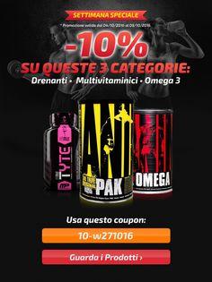 💪 COUPON per un ulteriore -10% su #Multivitaminici, #Omega3 e #Drenanti! Info Prodotti: http://goo.gl/B4USsO