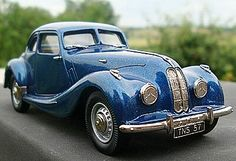 The Teardrop Special.  Based upon a 1959 Bristol 406 with the body from a 1938 Talbot Lago T150 Teardrop Coupe. https://en.wikipedia.org/wiki/Bristol_Cars