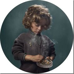 Glamorous Photos of Kids Smoking Frieke Janssens' images of kids and (fake!) cigarettes capture the ugliness and the not-quite-bygone glamour of smoking. Kind Photo, Kids Series, Mother Jones, Glamour Shots, Kids Lighting, Youth Culture, Photo Series, Kids Health, Children Health
