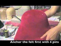 hat felt tutorial
