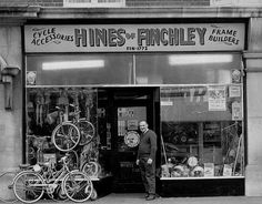 Hines of Finchley Uk History, London History, British History, Vintage London, Old London, Vintage Shops, London Photography, Street Photography, Vintage Pictures