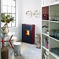 Flat - Pellet stove