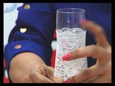 """Декор бутылки  шампанского на свадьбу."""" Жених."""" / How to decorate bottle for wedding. - YouTube"""