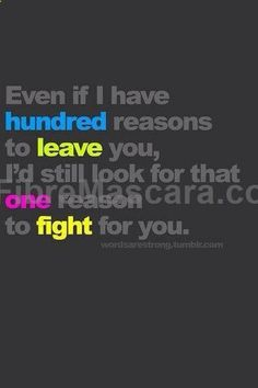 Ill fight until theres nothing left to fight for #expartner #love #relationship #lovesick #advice #romance #partner #breakup #rekindle #spark