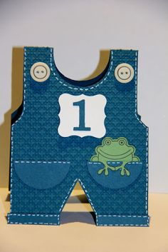 Ladybug Designs: First Birthday Overalls