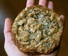 GF/DF oatmeal cookies