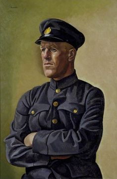 William Patrick Roberts (1895-1980)  T. E. Lawrence as Aircraftsman Shaw,  painted 1923
