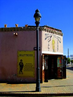Century courthouse building in Old Mesilla, NM, where Billy the Kid was convicted of murder and sentenced to death. (Now the Billy the Kid Gift Shop. Billy The Kids, Sun City, Land Of Enchantment, History Education, Kids Ride On, Mountain Man, Old West, Old Pictures, Santa Fe