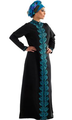 Tazkia Jilbab/ Abaya Long Coat Modern Islamic Clothing