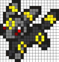 Umbreon Perler Perler Bead Pattern / Bead Sprite