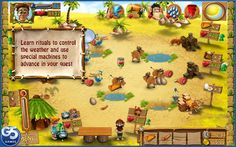 For all real strategy games fans - the most frenzied adventure yet! Can you survive on a mysterious island as well as find your way back home? Try it out in Youda Survivor. Here is your chance to become a real Robinson Crusoe. You will have to win over the hearts of the native tribe by proving that you are the one person that can save them from cunning pirates. Obtain mystical tribal items with magical powers; learn rituals which you can use to control the weather and use special machines to…