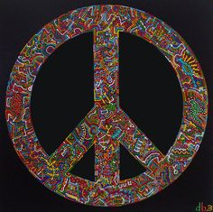 Peace Sign in Full Color