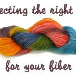 Yarn Dyeing: Selecting the Right Dye for Your Fiber
