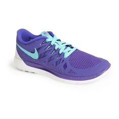 Women's Nike 'Free 5.0 14' Running Shoe ($67) ❤ liked on Polyvore featuring shoes, athletic shoes, nike, running shoes, sneakers, sports, low profile shoes, sports shoes, sport running shoes and low top