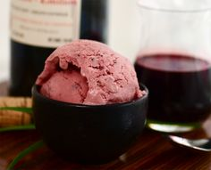 Red Wine and Blackberry Ice Cream--when I get an ice cream maker, this is happening!