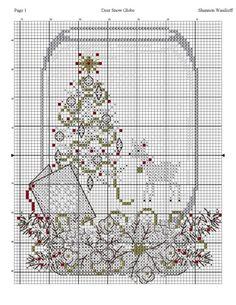 Gallery.ru / Фото #93 - Cross Stitch - Mussen Xmas Cross Stitch, Cross Stitch Christmas Ornaments, Christmas Cross, Cross Stitching, Cross Stitch Embroidery, Cross Stitch Sampler Patterns, Cross Stitch Samplers, Cross Stitch Designs, Ladder Stitch