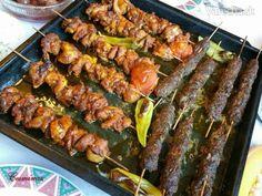 Şiş kebab /Šiš kebab (fotorecept)