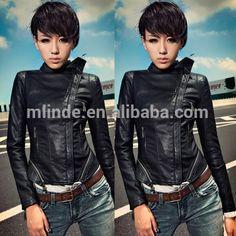 simple women leather jacket patterns biker design, womens leather biker jackets