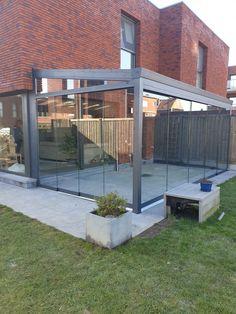 Skylight Design, Garden Room Extensions, Living Room Tv, Glass House, Conservatory, Sunroom, Sweet Home, New Homes, Yard