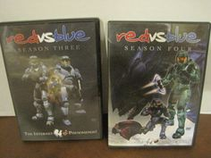 Red vs. Blue Season 3 And 4 (DVD)