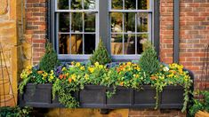 Easy to Maintain Miniature Garden - 124 Container Gardening Ideas - Southern Living