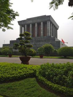 Ho Chi Minh mausoleum, Hanoi, Vietnam.